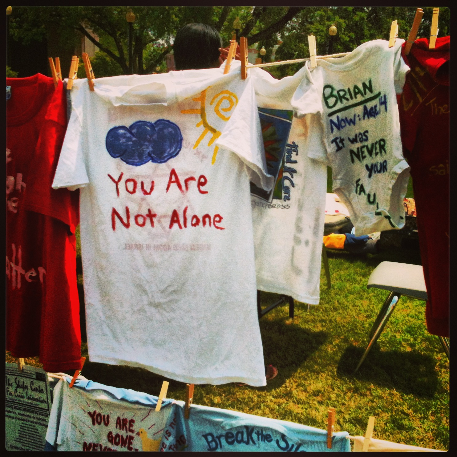 USM Clothesline Project 2013