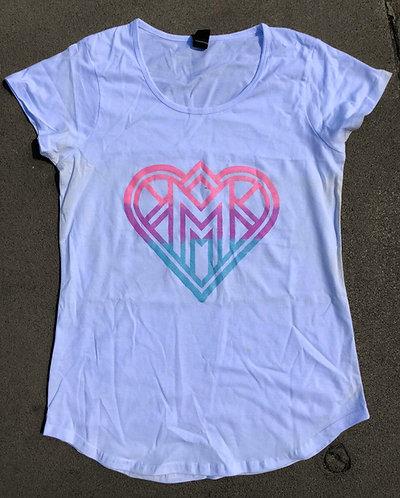 MnM Pride Heart T Shirt