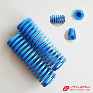 Flat Wire Compression Spring Outer diameter: 40.00 mm Inner diameter: 20.00 mm Free length: 125.00 mm Load classification: light
