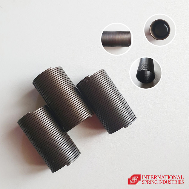 Flat Wire Tension Spring Material: high carbon steel Wire thickness: 1.90 mm Wire width: 1.90 mm Outer diameter: 24.80 mm Overall length: 60.80 mm Others: no hooks