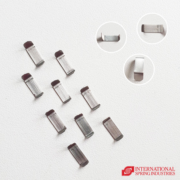 Flat Spring Material: stainless steel Thickness: 0.30 mm