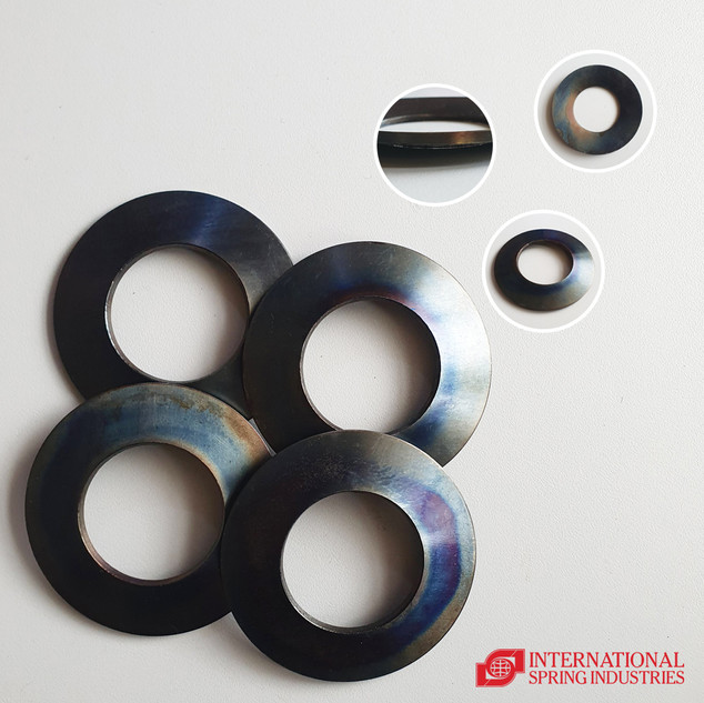 Disc Spring Material: ordinary spring plate Thickness: 3.00 mm Inner diameter: 41.00 mm Outer diameter: 80.00 mm