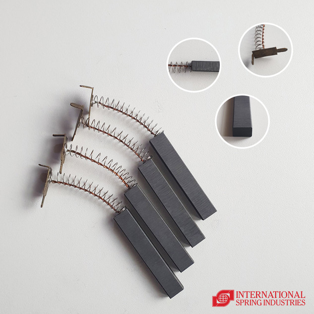 Carbon Brush Material: carbon graphite Thickness: 7.00 mm Width: 11.00 mm Length: 2.5 in Terminal: plate type