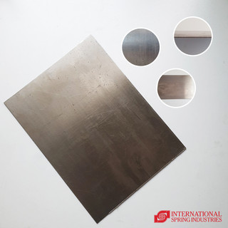 Spring Plate Material: ordinary steel Thickness: 0.50 mm Width: 9.00 in Length: 12.00 in