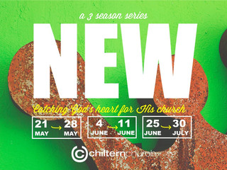 NEW - CATCH GOD'S HEART FOR HIS CHURCH (May - Sept)