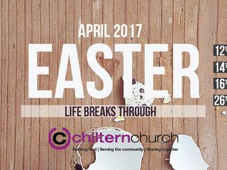 LIFE BREAKS THROUGH - EASTER 2017