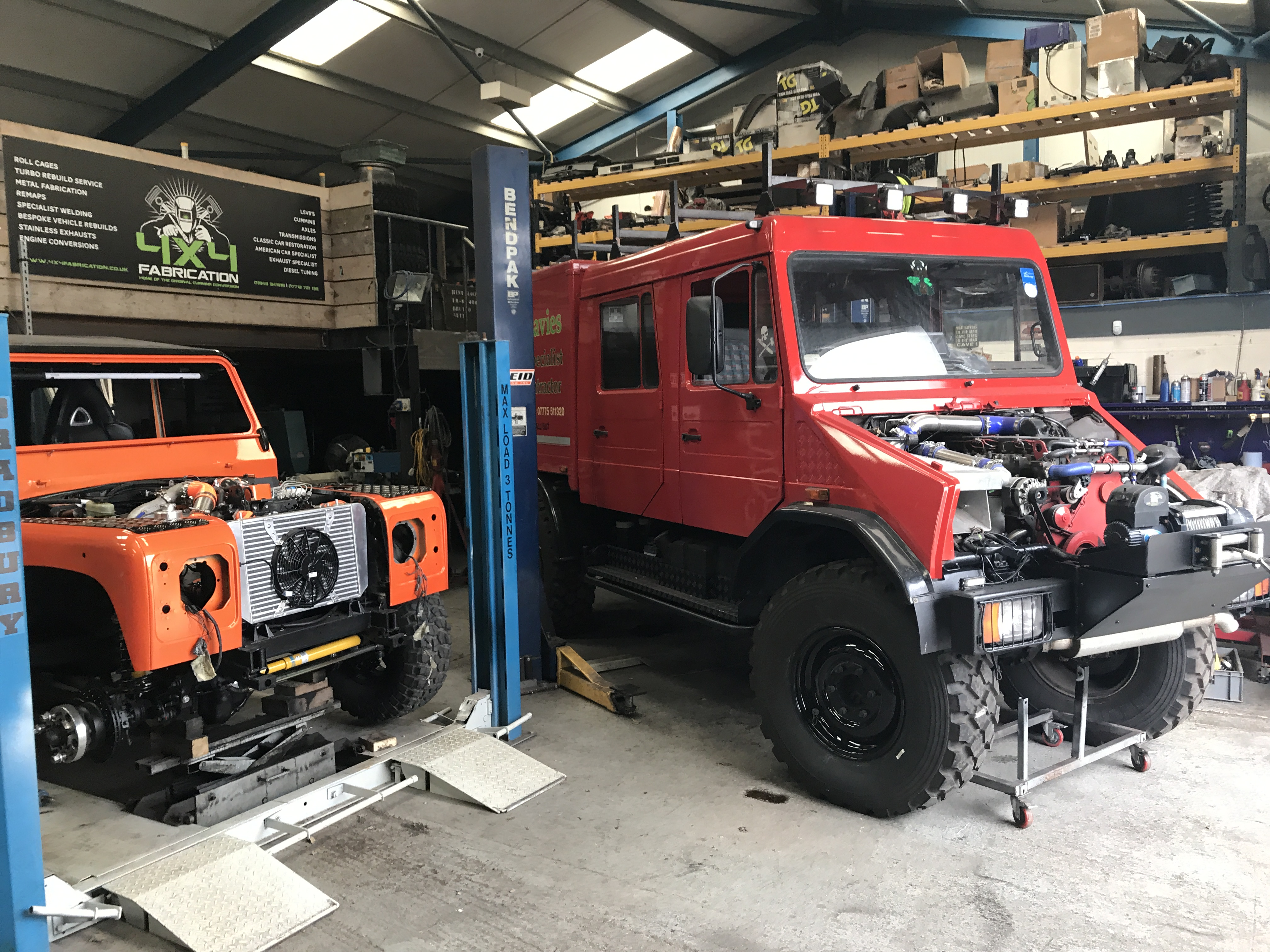 4x4 Fabrication | Cummins Engine Conversions | Shropshire UK