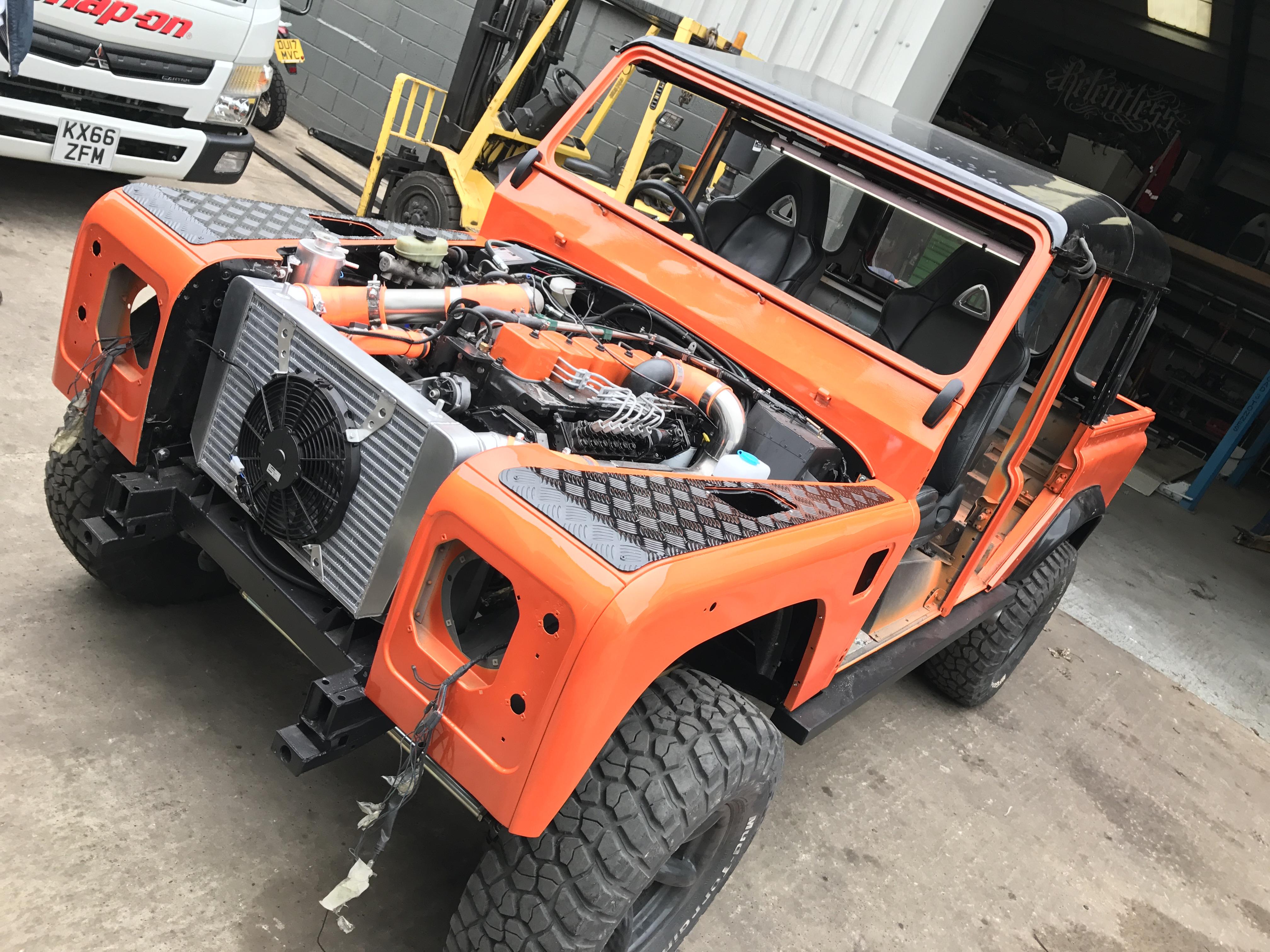 4x4 Fabrication | Cummins Engine Conversions | Shropshire UK
