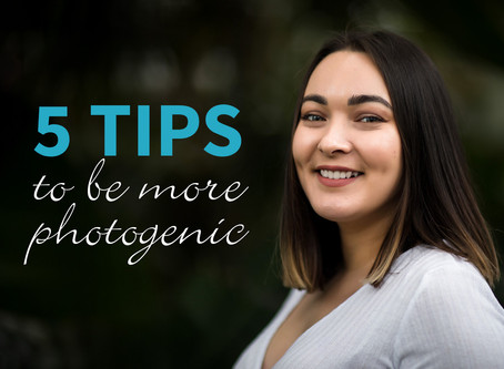 5 tips to be more photogenic