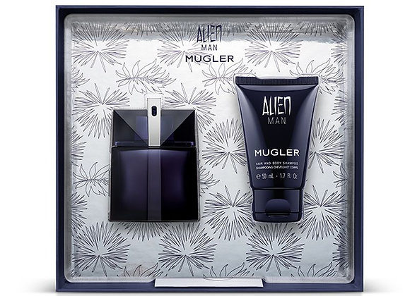 Thierry Mugler Alien Man Gift Set 50ml EDT + 50ml Shampoo