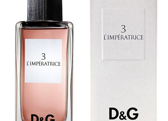 Dolce & Gabbana D&G 3 L'Imperatrice EDT 100ml