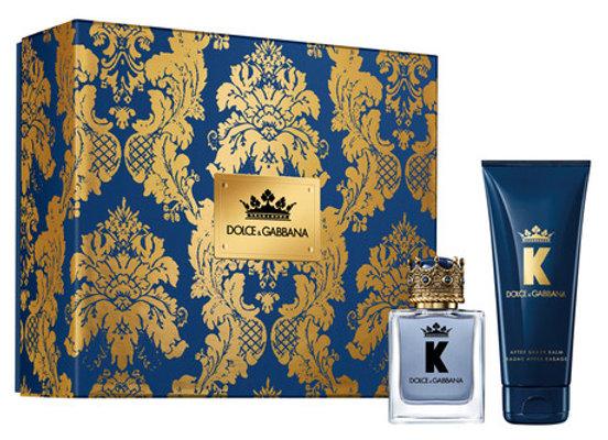 Dolce & Gabbana K Gift Set 50ml EDT + 75ml Aftershave Balm