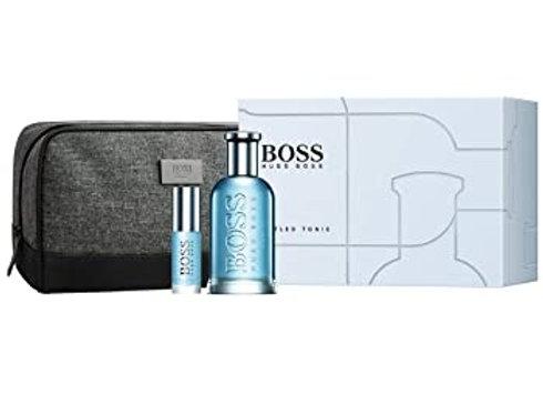 Hugo Boss Boss Bottled Tonic Gift Set 100ml EDT + 8ml EDT + Free Travel Bag