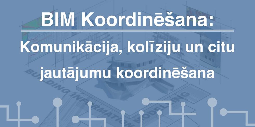 BIM Koordinēšana: Komunikācija, kolīziju un citu jautājumu koordinēšana