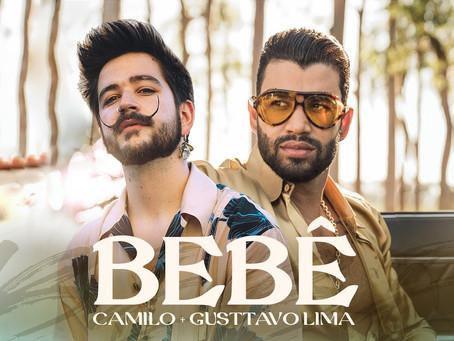 Amarás a Camilo cantando en portugués en compañía de Gusttavo Lima.