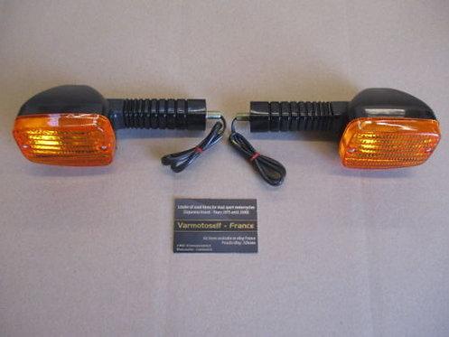 Clignotants arrière NEUFS pour Suzuki 750 1100 GSXR 1985 à 1987
