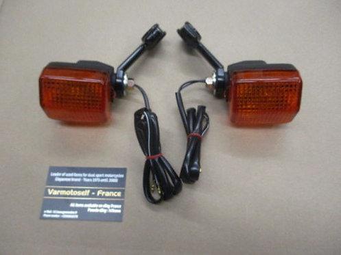 Clignotants avant NEUFS pour Honda 600 XLR - PD03