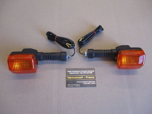 Clignotants arrière NEUFS pour Honda 600 XLL - XLM - XLLM - XLRM - PD04