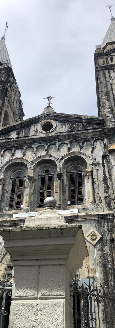 The angican church of Stone town