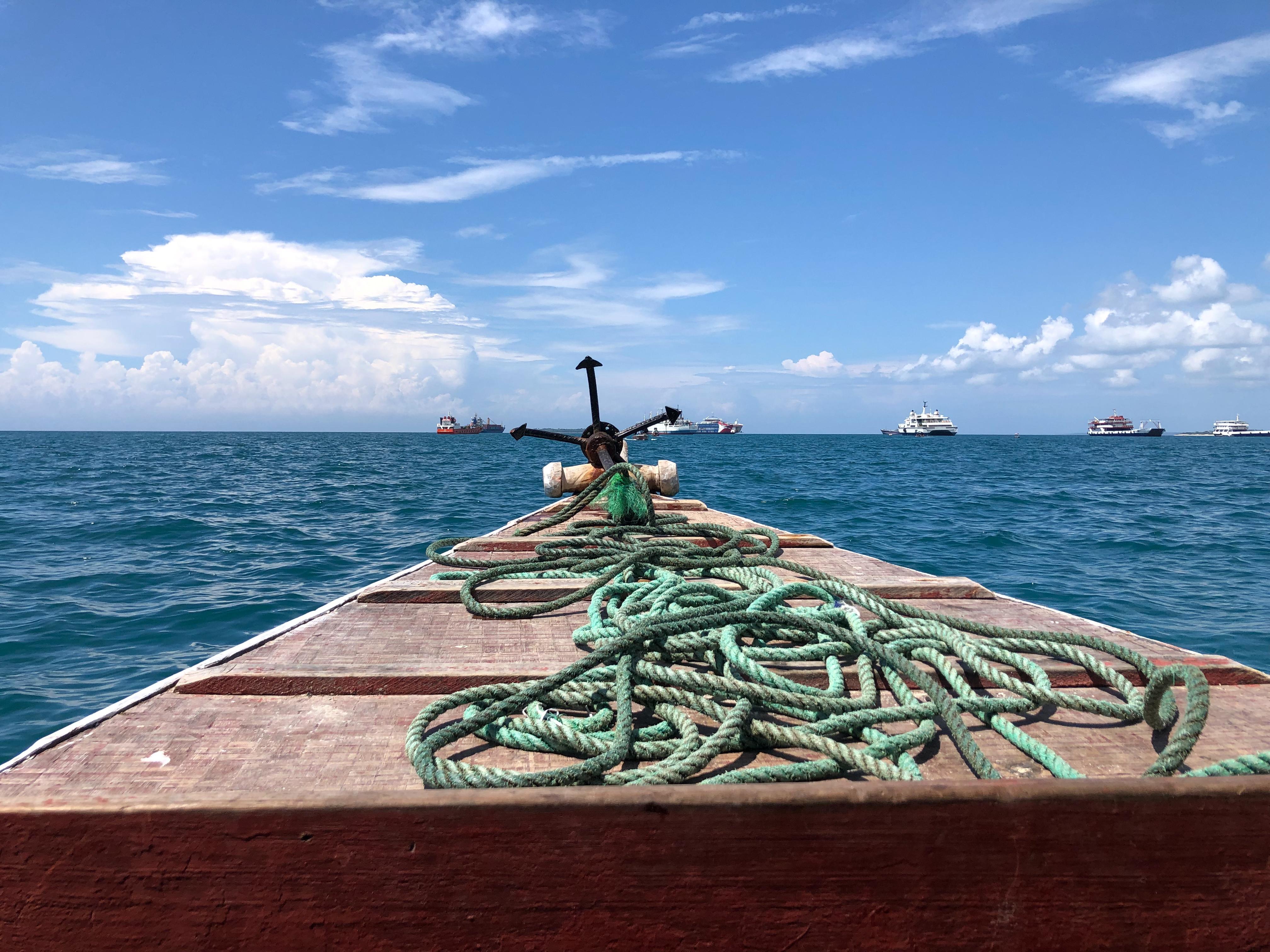 Boat to Prison Island