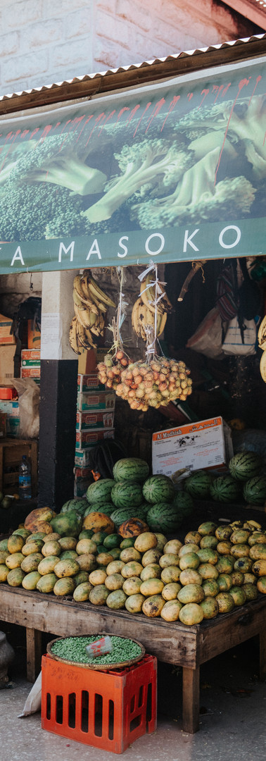 Buy fresh fruits at the market
