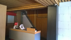 Plafond hout onbehandeld