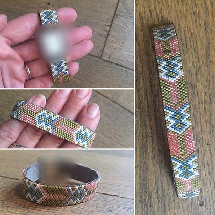 Bracelet pour montre Poiray motif POISSONS