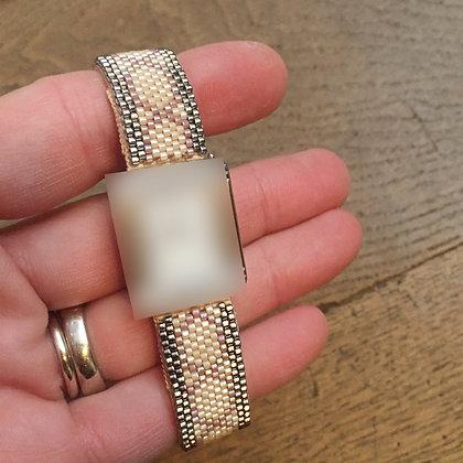 Bracelet pour montre Poiray motif ZELLIGES