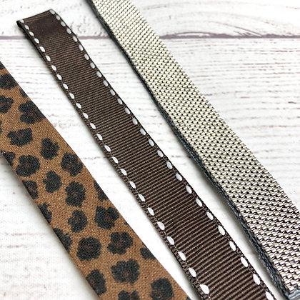 Bracelet pour montre Poiray, en perles miyuki, uni doré ou argenté