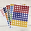 Thumbnail: Planches de 88 Stickers ronds 20 mm