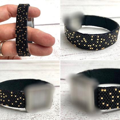 Bracelet pour montre Poiray motif Paillettes