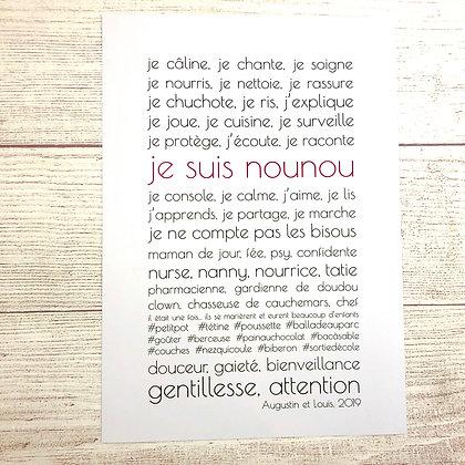 Affiche Nounou