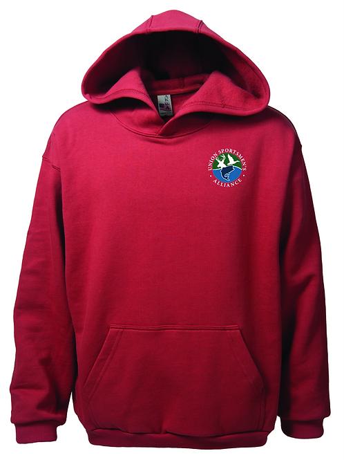 Embroidered Union Sportsmen's Alliance AKWA Men's Pullover Fleece Hoodie