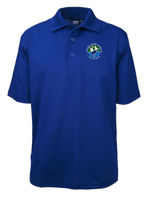 Embroidered Union Sportsmen's Alliance AKWA Men's Polo T-Shirt
