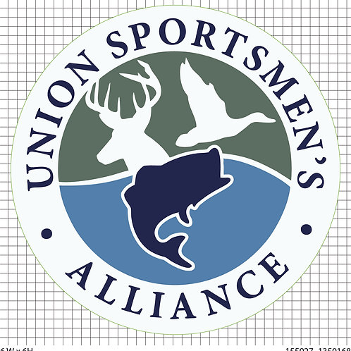 Union Sportsmen's Alliance Window Decal