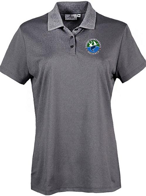 Embroidered Union Sportsmen's Alliance AKWA Ladies' Polo T-Shirt