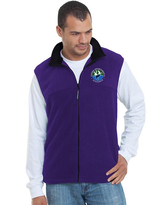 Embroidered Union Sportsmen's Alliance Bayside Fleece Vest