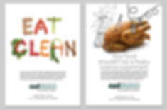 Ad campaign for eatclean.com