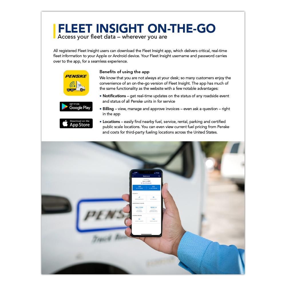 Fleet Insight online flip book