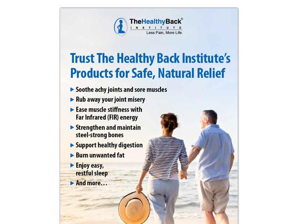 Heathy Back Institute catalog