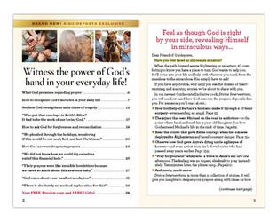 Divine Interventions book promotion
