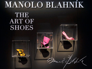 "Manolo Blahnik Unveils ""The Art of Shoes"" in Milan"