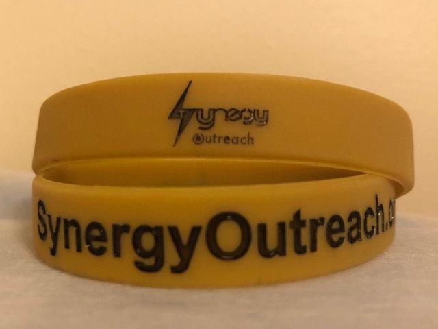 Synergy Outreach Rubber Wrist Band