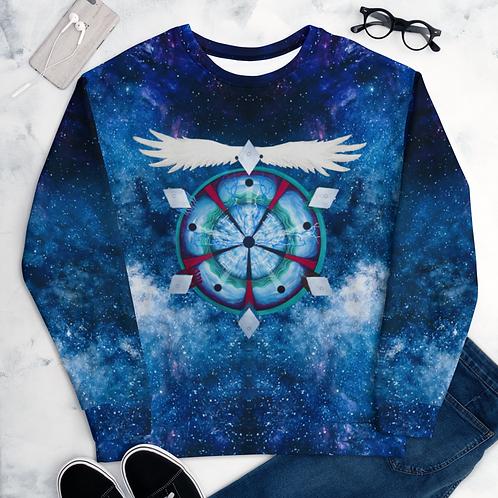 Astral Doom Musick Mandala sweatshirt all-over print