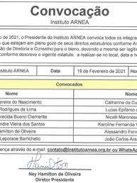 Convocação para Eleição de Diretoria e Conselho