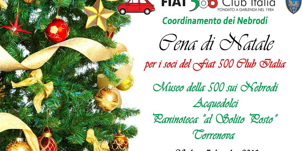 Cena di Natale per i soci del Fiat 500 Club Italia