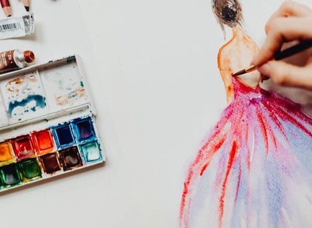 AQUARELLE WORKSHOP - Painting Fashion