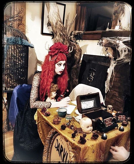 READINGS: Sunday 9/15 2:00-6:00 Tarot Readings using Dolls $25 per reading