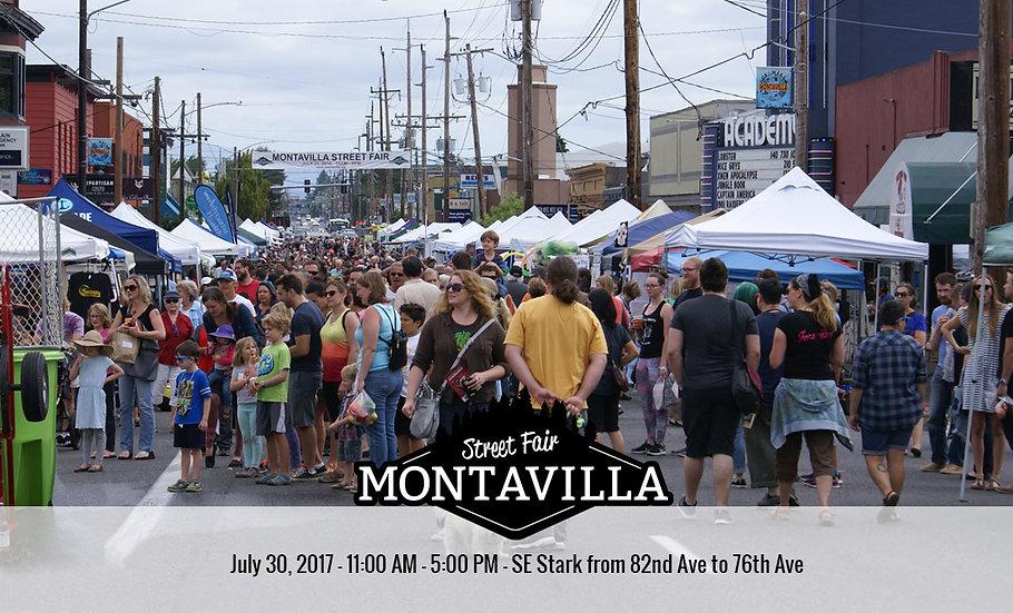 7/30/17: MONTAVILLA Street Fair!  11-6:30