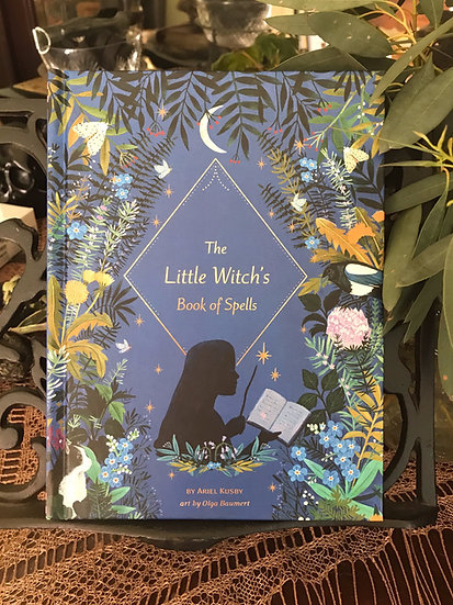 The Little Witch's Book of Spells ~Book by local author Ariel Kusby